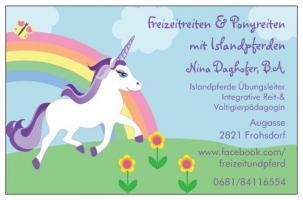 Verein Freizeitreiten & Ponyreiten mit Islandpferden