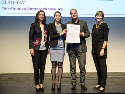 fair-finance Vorsorgekasse AG