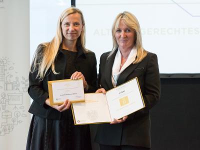 3. Platz in der Kategorie Öffentlich-rechtliche Unternehmen und Institutionen: Landeskrankenhaus Feldkirch