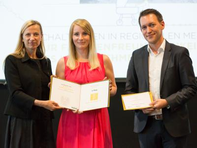 "2. Platz Sonderpreis ""Bestes Familienfreundliches Employer Branding"": Haustechnik Farthofer e.U."