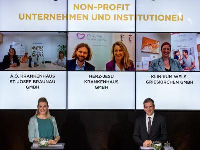 """Die Nominierten in der Kategorie """"Non-Profit Unternehmen und Institutionen"""""""
