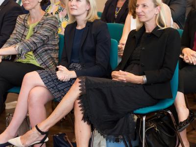 Bundesministerin Dr. Juliane Bogner-Strauß und Sektionsleiterin Bernadett Humer