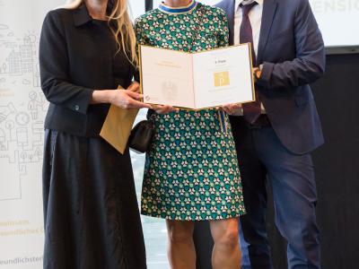 3. Platz in der Kategorie Private Wirtschaftsunternehmen ab 101 Mitarbeiter/innen: Fill Gesellschaft m.b.H.