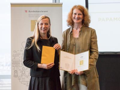 3. Platz in der Kategorie Non-Profit Unternehmen und Institutionen: Vorarlberger Kinderdorf