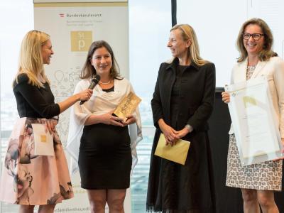 1. Platz in der Kategorie Non-Profit Unternehmen und Institutionen: Geriatrische Gesundheitszentren der Stadt Graz