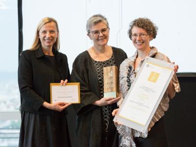 1. Platz in der Kategorie Öffentlich-rechtliche Unternehmen und Institutionen: Karl-Franzens Universität Graz