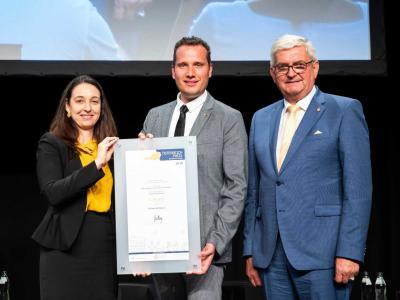 Der erste Platz ging an die niederösterreichische Gemeinde Kauns für ihr Kinderparlament