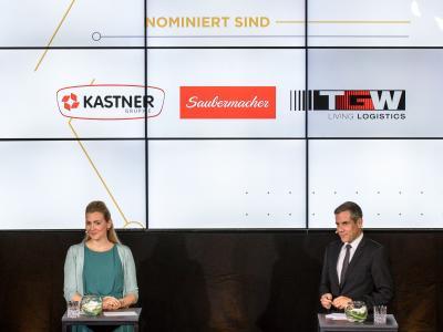 """Die Nominierten in der Kategorie """"Private Wirtschaftsunternehmen ab 101 Mitarbeiterinnen und Mitarbeitern"""""""