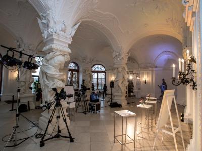Behind the scenes im Oberen Belvedere © Harald Schlossko