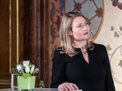 Bundesministerin für Frauen, Familie, Jugend und Integration MMag. Dr. Susanne Raab © Harald Schlossko