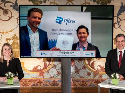 Pfizer Manufacturing Austria GmbH © Harald Schlossko