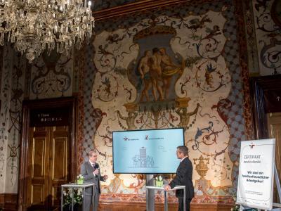 Dr. Peter Hajek und Werner Sejka © Harald Schlossko