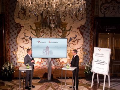 Mag. Thomas Lichtblau und Werner Sejka © Harald Schlossko