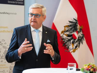 Gemeindebundpräsident Mag. Alfred Riedl © BKA/Florian Schrötter
