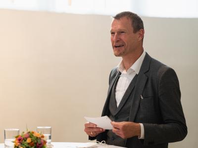 Christoph Jünger, Geschäftsführer UNICEF Österreich © BKA/Florian Schrötter